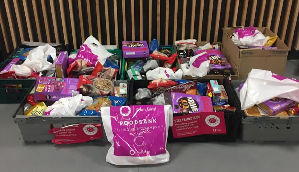 Pupils rally to help Manchester's homeless in festive charity drive